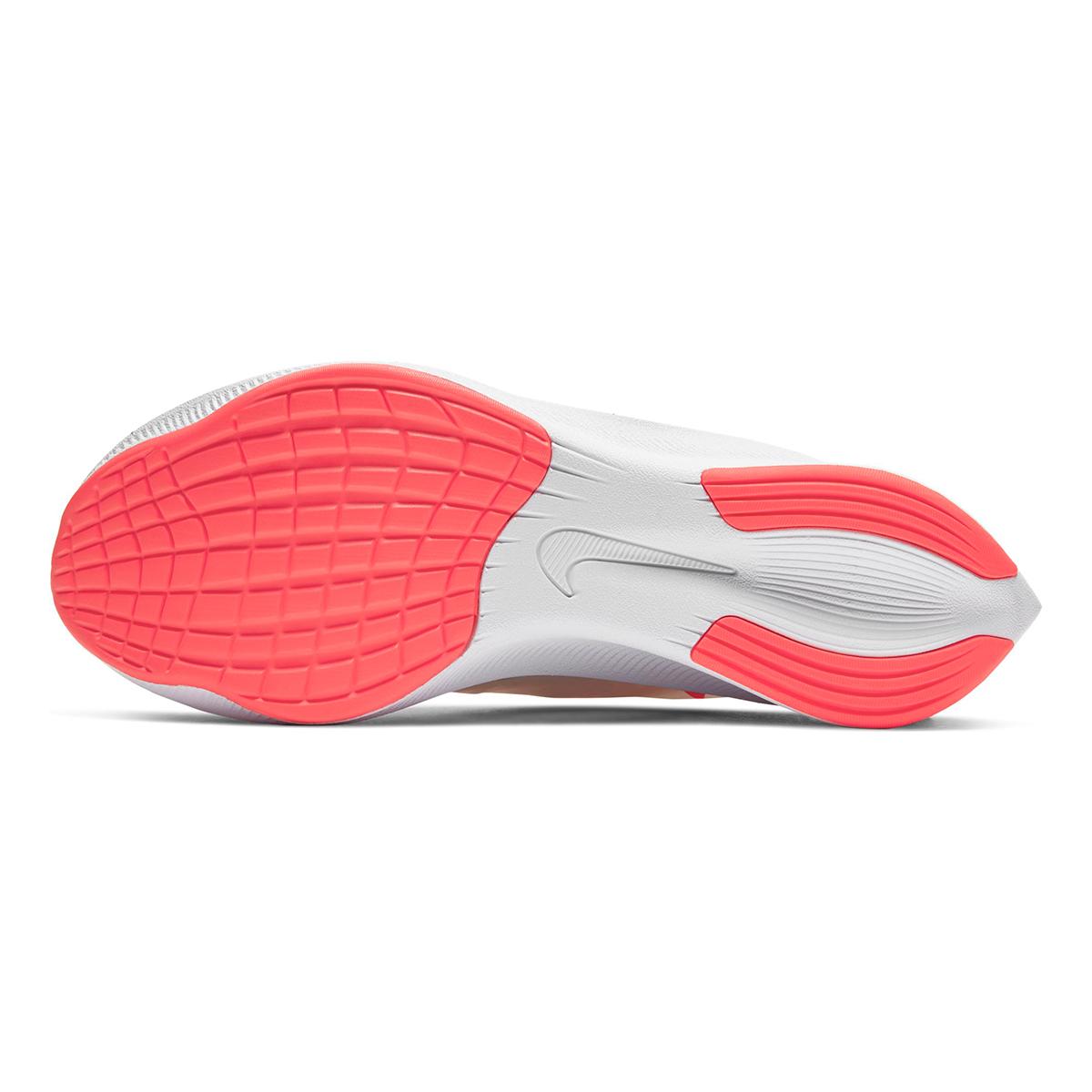 Women's Nike Zoom Fly 3 Running Shoes - Color: White/Laser Crimson/Summit White - Size: 5 - Width: Regular, White/Laser Crimson/Summit White, large, image 3