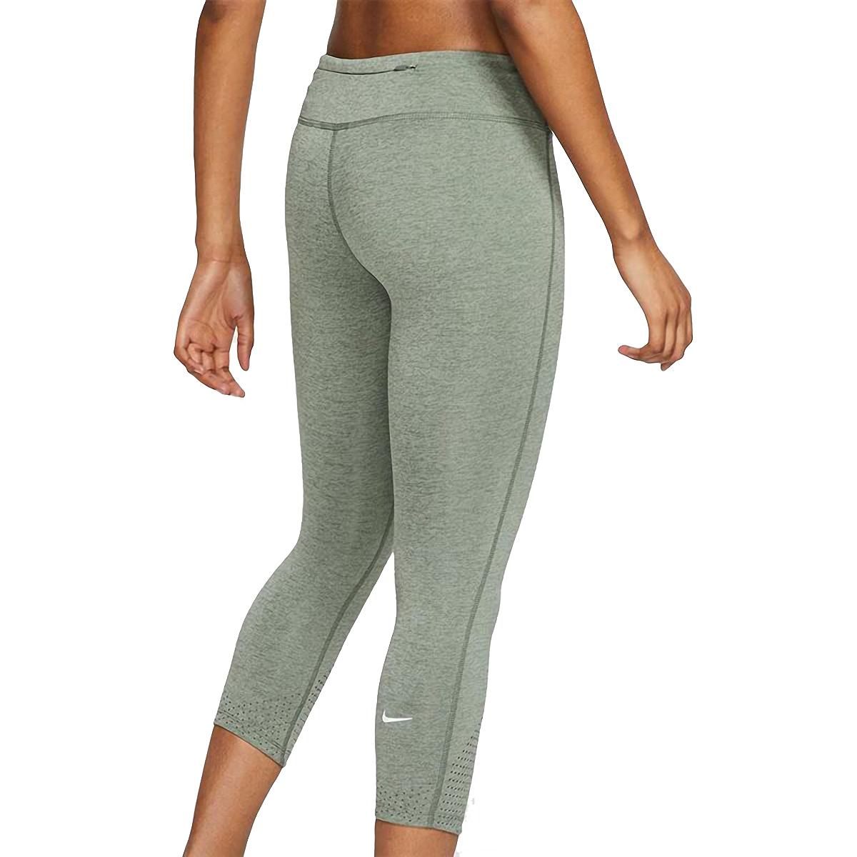 Women's Nike Epic Luxe Crop   - Color: Juniper Fog - Size: XL, Juniper Fog, large, image 2