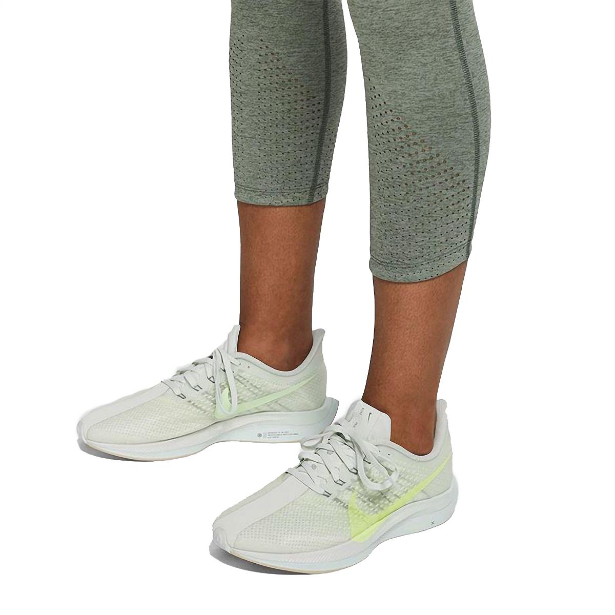 Women's Nike Epic Luxe Crop   - Color: Juniper Fog - Size: XL, Juniper Fog, large, image 4