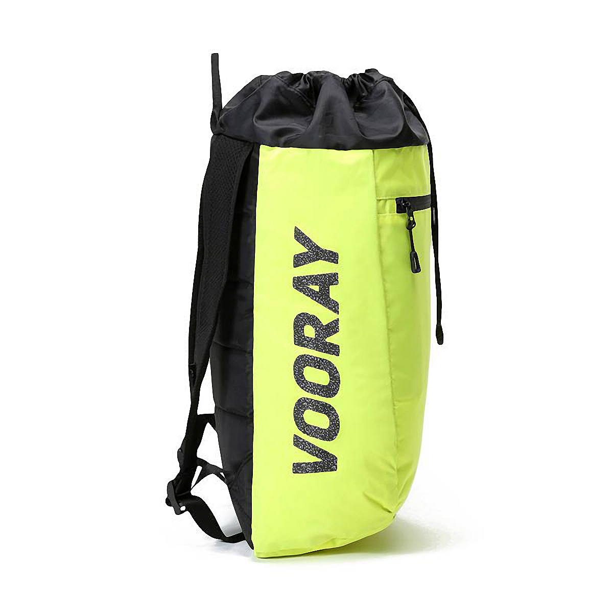 Vooray Stride Cinch Backpack - Color: Neon Yellow - Size: OS, Neon Yellow, large, image 2