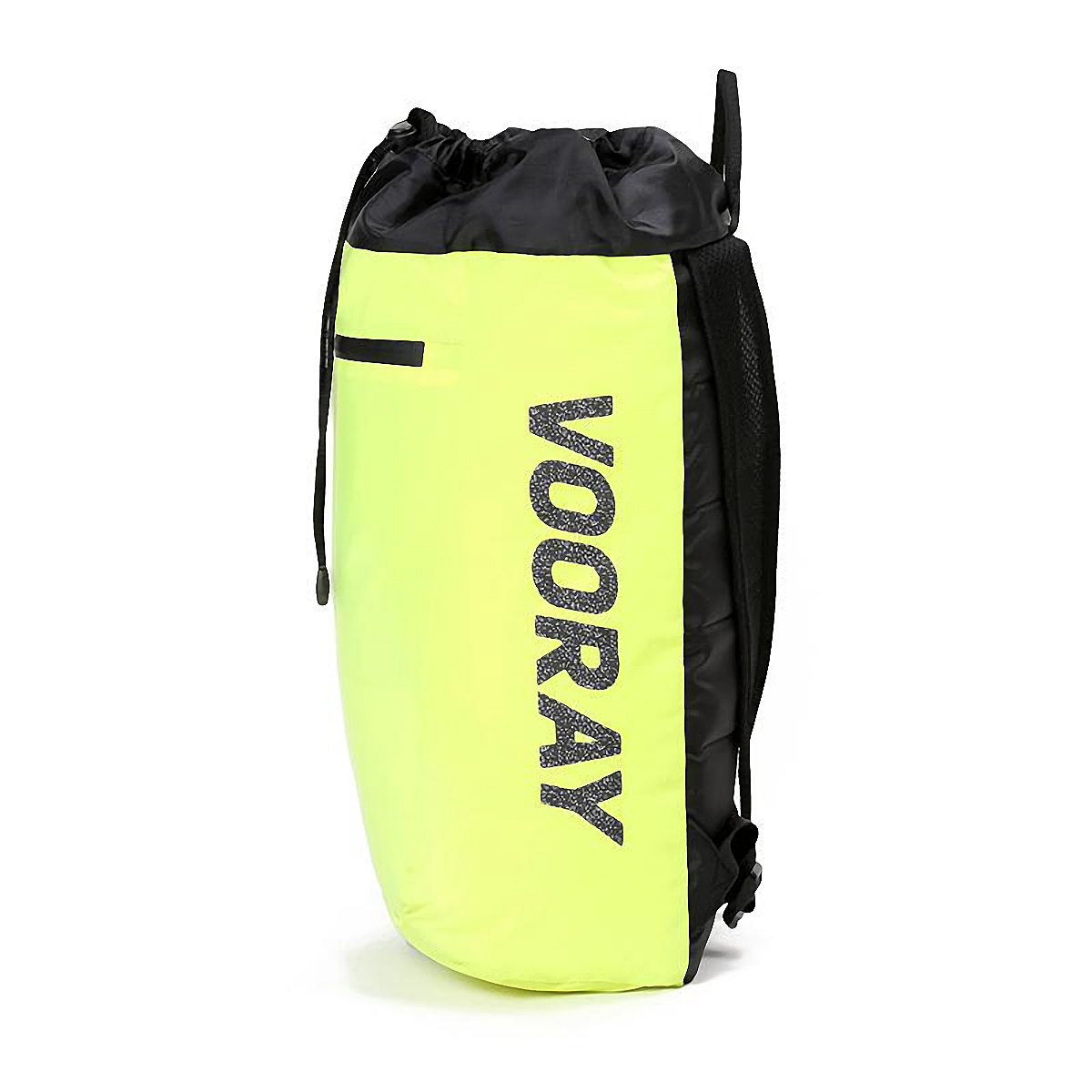 Vooray Stride Cinch Backpack - Color: Neon Yellow - Size: OS, Neon Yellow, large, image 4