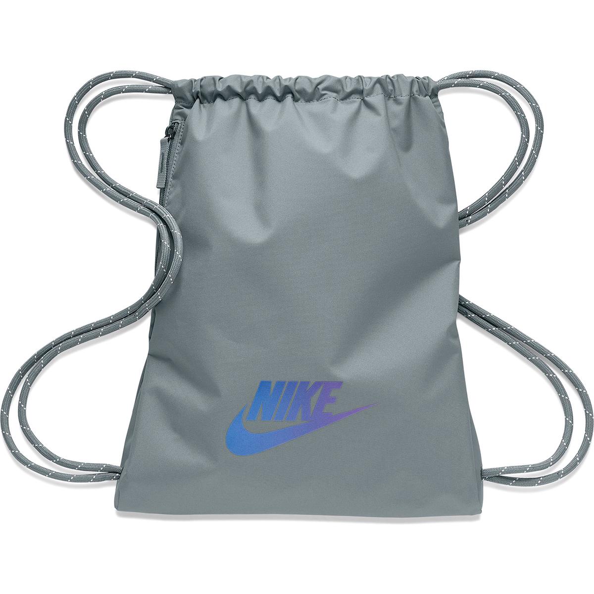 Nike Heritage Gym Sack - 2.0 - Color: Smoke Grey/Iridescent, Smoke Grey/Iridescent, large, image 1