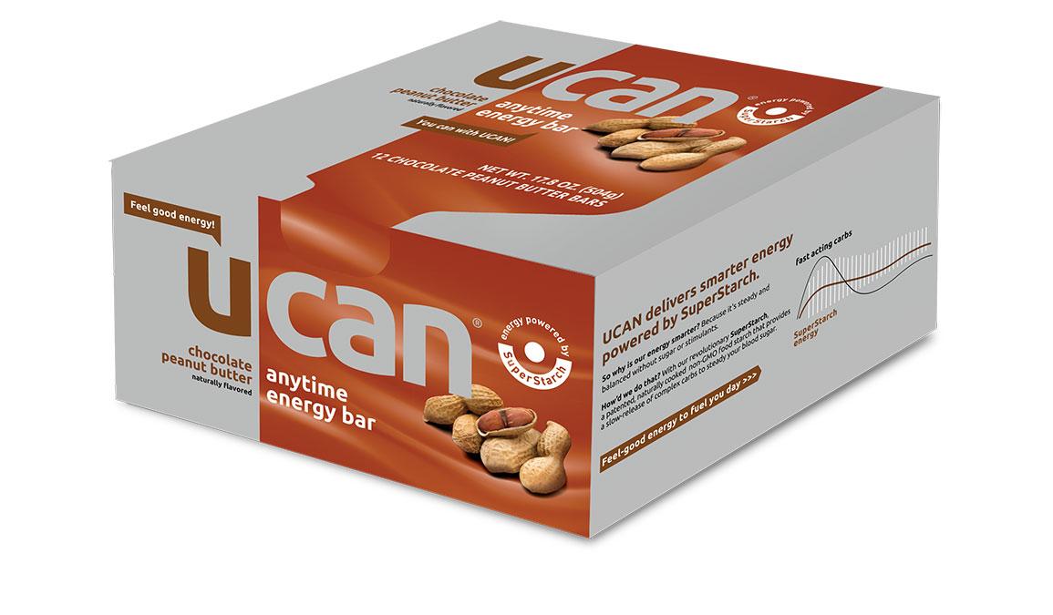 UCAN Energy Bars - Chocolate Peanut Butter - 12 Pack, Chocolate Peanut Butter, large, image 1