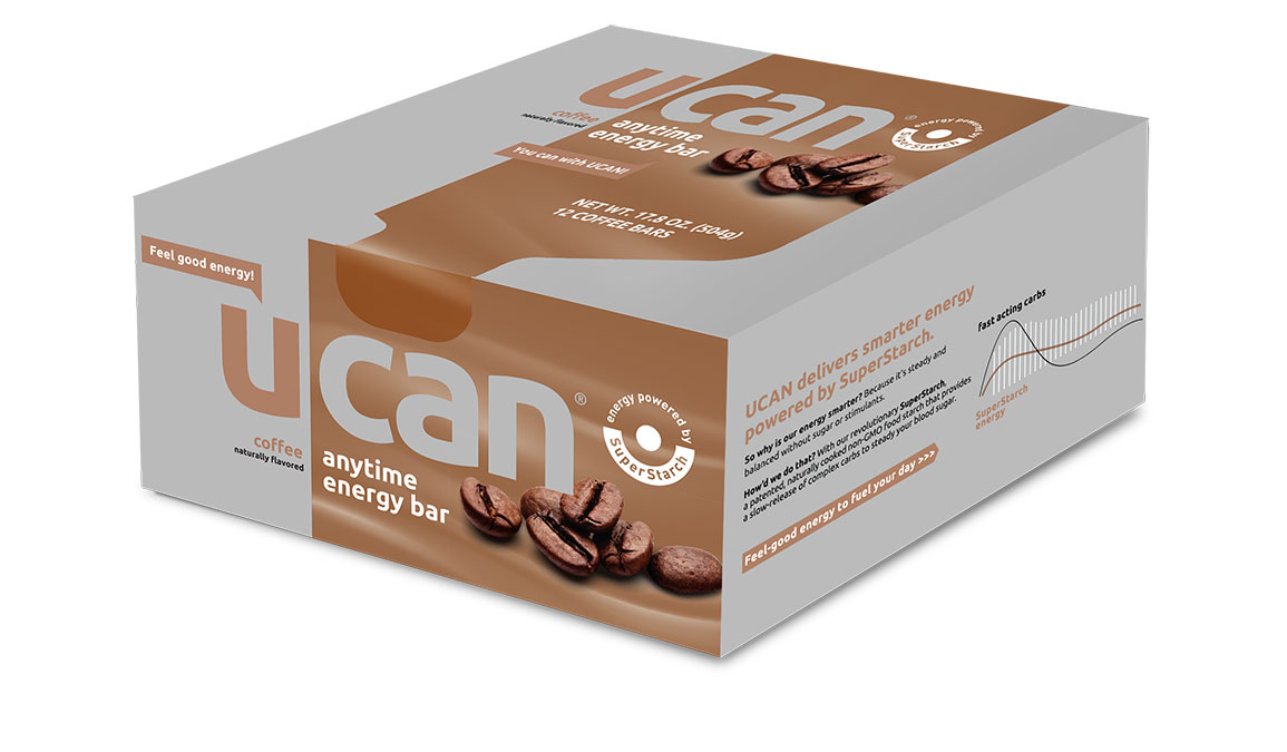 UCAN Anytime Energy Bar - Flavor: Coffee - Size: Box of 12, Coffee, large, image 1