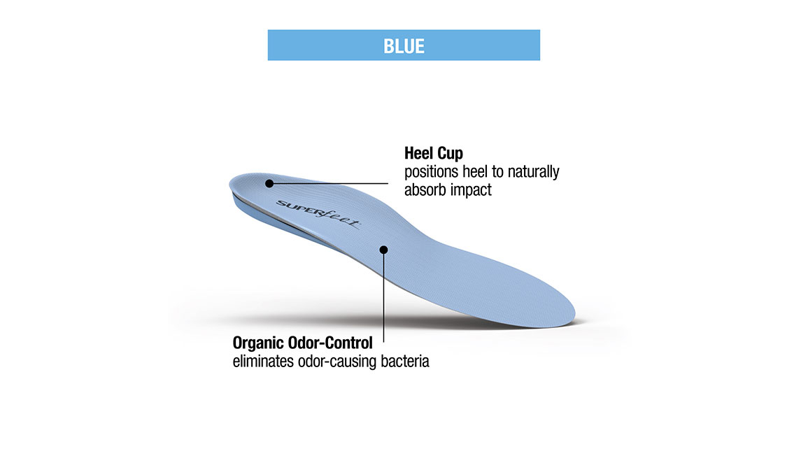 Superfeet Blue Insole F- (Men 11.5-13/Women 12.5+), Blue, large, image 4