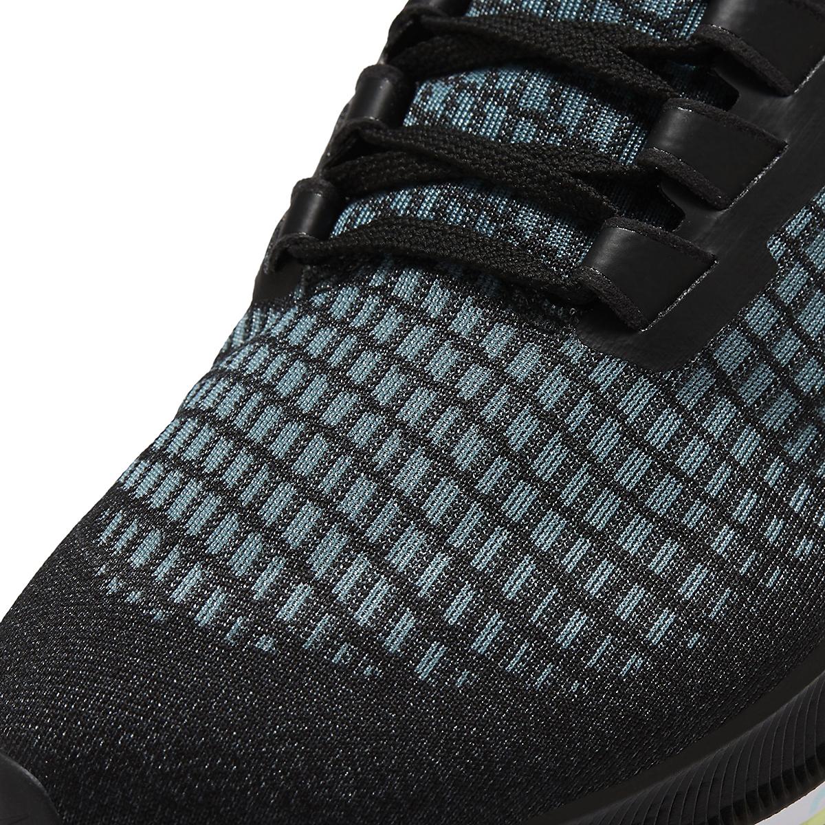 Women's Nike Air Zoom Pegasus 37 Running Shoe - Color: Black/Glacier Ice-Barely Volt-White - Size: 6 - Width: Regular, Black/Glacier Ice-Barely Volt-White, large, image 7