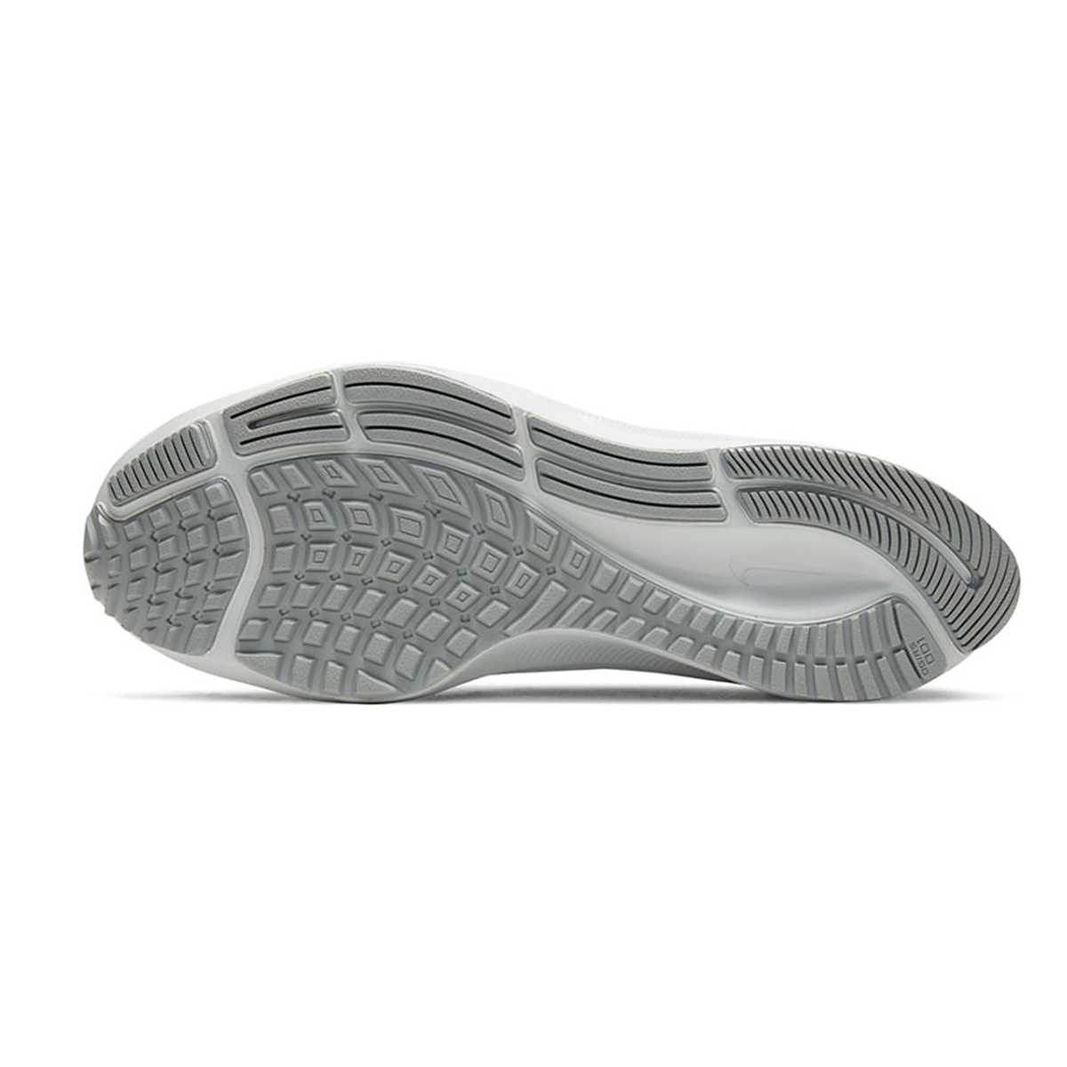 Women's Nike Air Zoom Pegasus 37 Running Shoe - Color: Pure Platinum/Silver/Wolf Grey - Size: 5 - Width: Regular, Pure Platinum/Silver/Wolf Grey, large, image 3