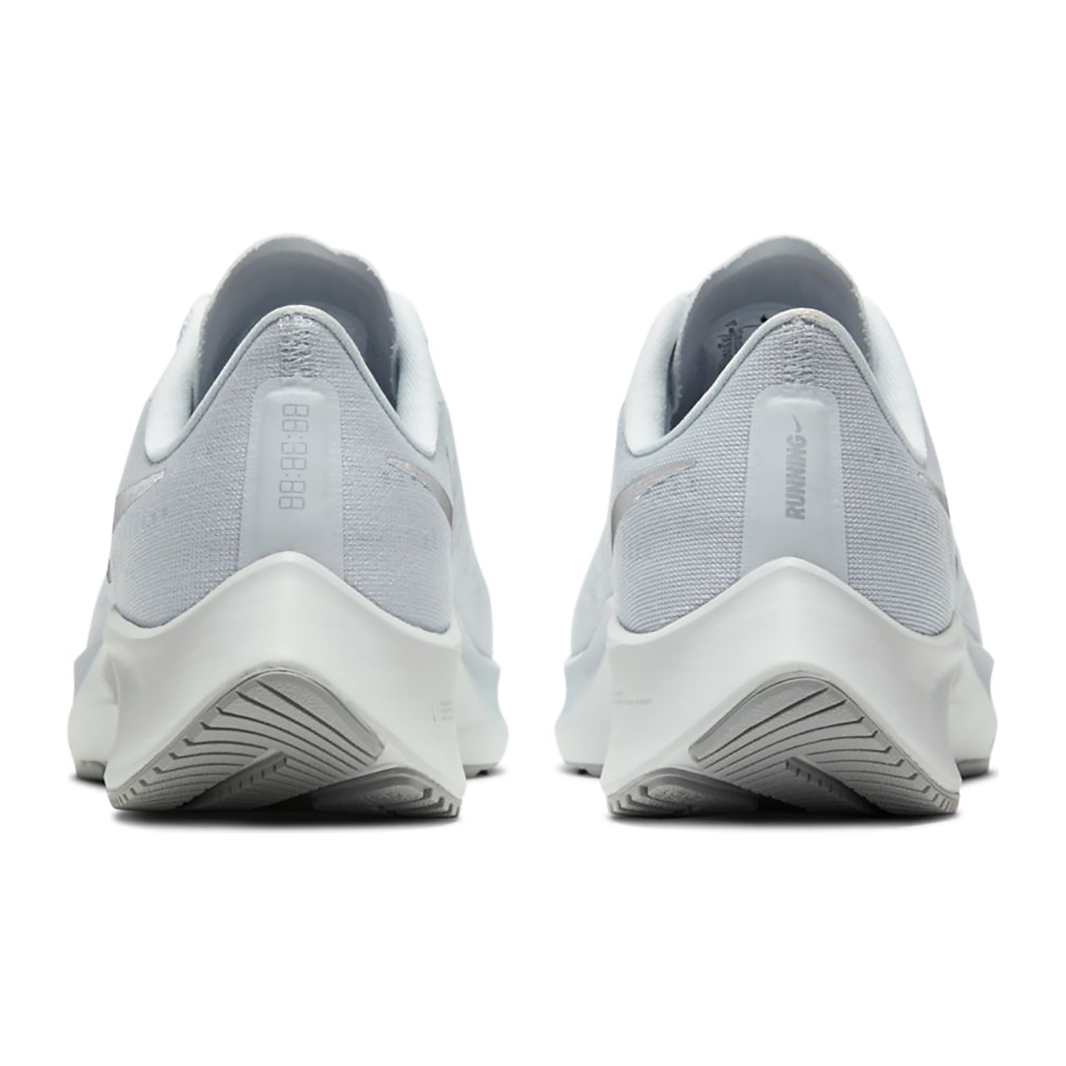 Women's Nike Air Zoom Pegasus 37 Running Shoe - Color: Pure Platinum/Silver/Wolf Grey - Size: 5 - Width: Regular, Pure Platinum/Silver/Wolf Grey, large, image 4