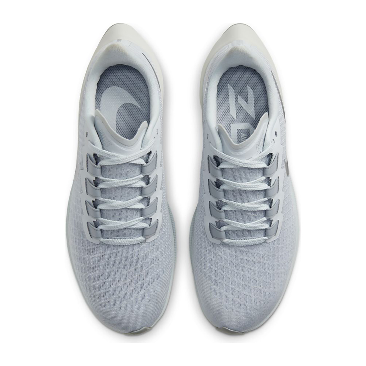 Women's Nike Air Zoom Pegasus 37 Running Shoe - Color: Pure Platinum/Silver/Wolf Grey - Size: 5 - Width: Regular, Pure Platinum/Silver/Wolf Grey, large, image 6