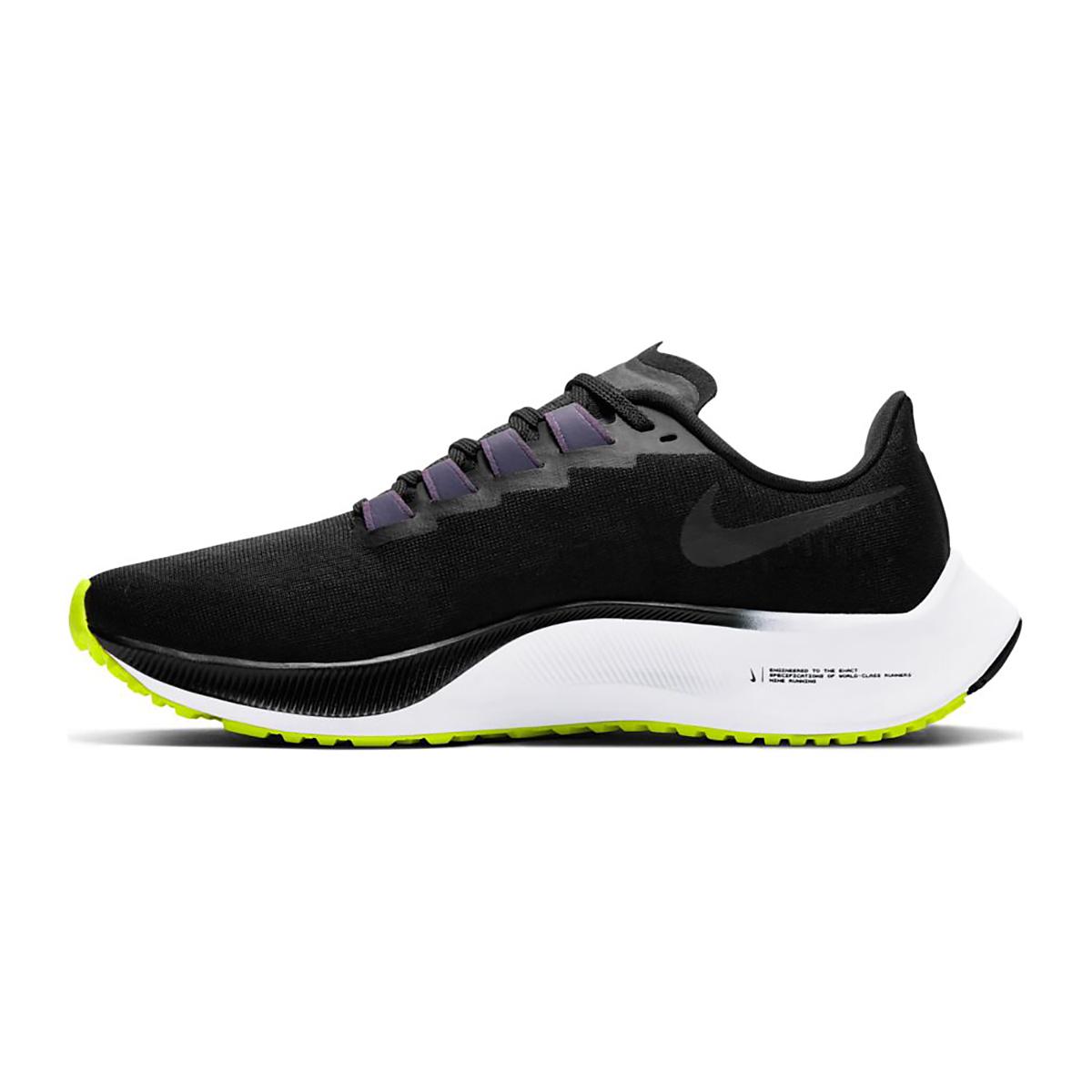 Women's Nike Nike Air Zoom Pegasus 37 Running Shoe - Color: Black/Anthracite/Dark Raisin/White - Size: 5 - Width: Regular, Black/Anthracite/Dark Raisin/White, large, image 2