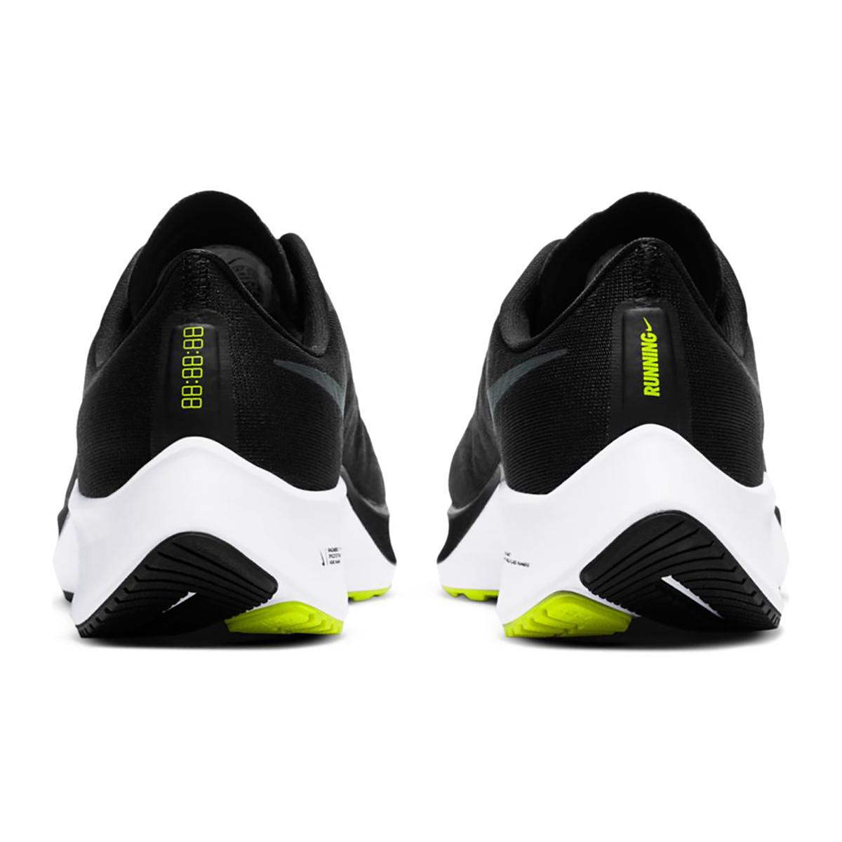 Women's Nike Nike Air Zoom Pegasus 37 Running Shoe - Color: Black/Anthracite/Dark Raisin/White - Size: 5 - Width: Regular, Black/Anthracite/Dark Raisin/White, large, image 4