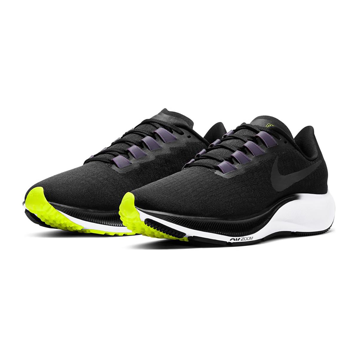 Women's Nike Air Zoom Pegasus 37 Running Shoe - Color: Black/Anthracite/Dark Raisin/White - Size: 5 - Width: Regular, Black/Anthracite/Dark Raisin/White, large, image 5