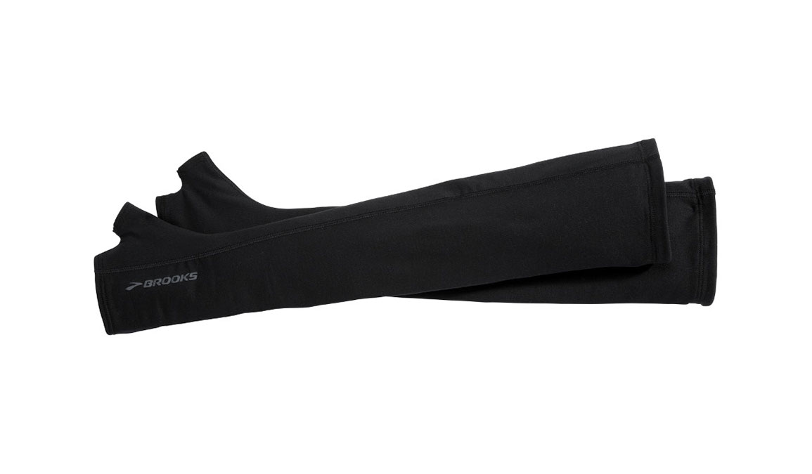 Brooks Dash Armwarmer - Color: Black Size: M/L, Black, large, image 1