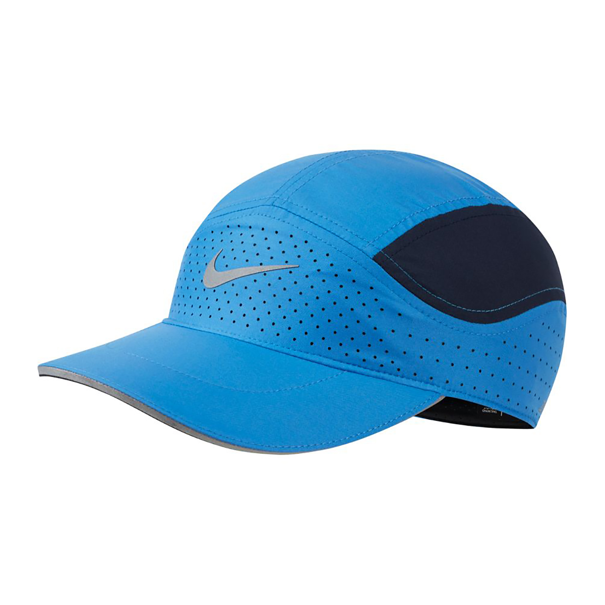Nike AeroBill Tailwind Running Cap - Color: Blue, Blue, large, image 1