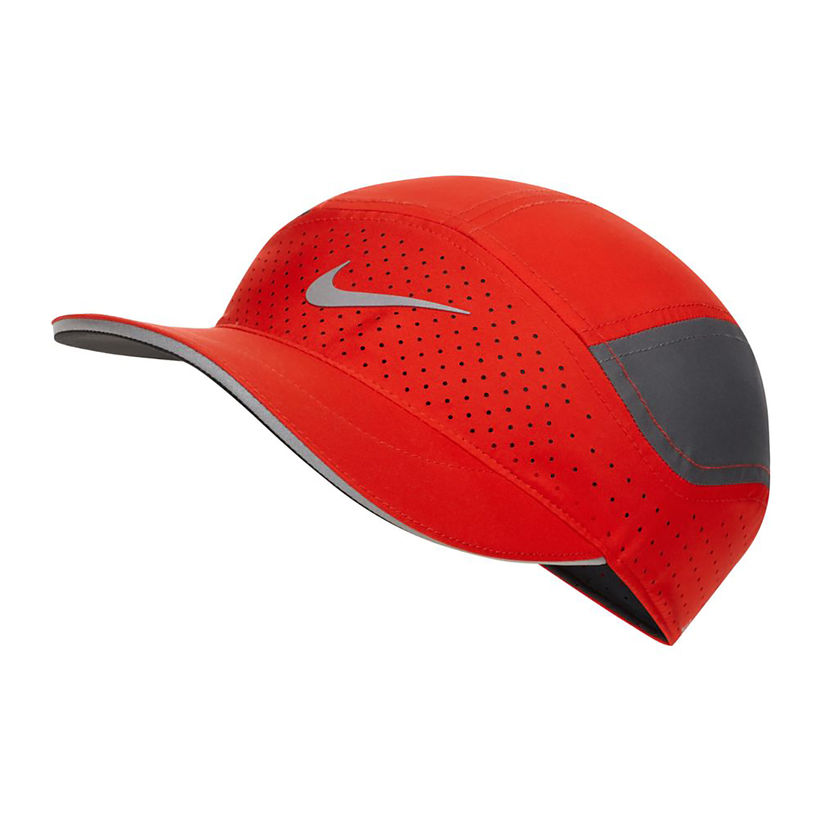Nike AeroBill Tailwind Running Cap - Color: Red, Red, large, image 1