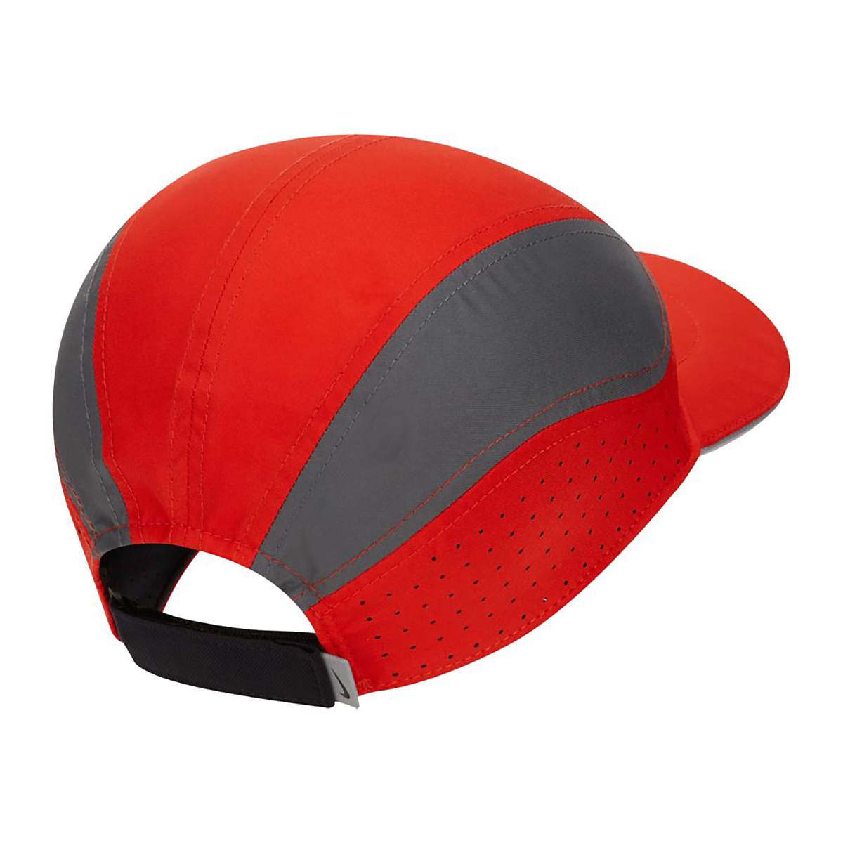 Nike AeroBill Tailwind Running Cap - Color: Red, Red, large, image 2