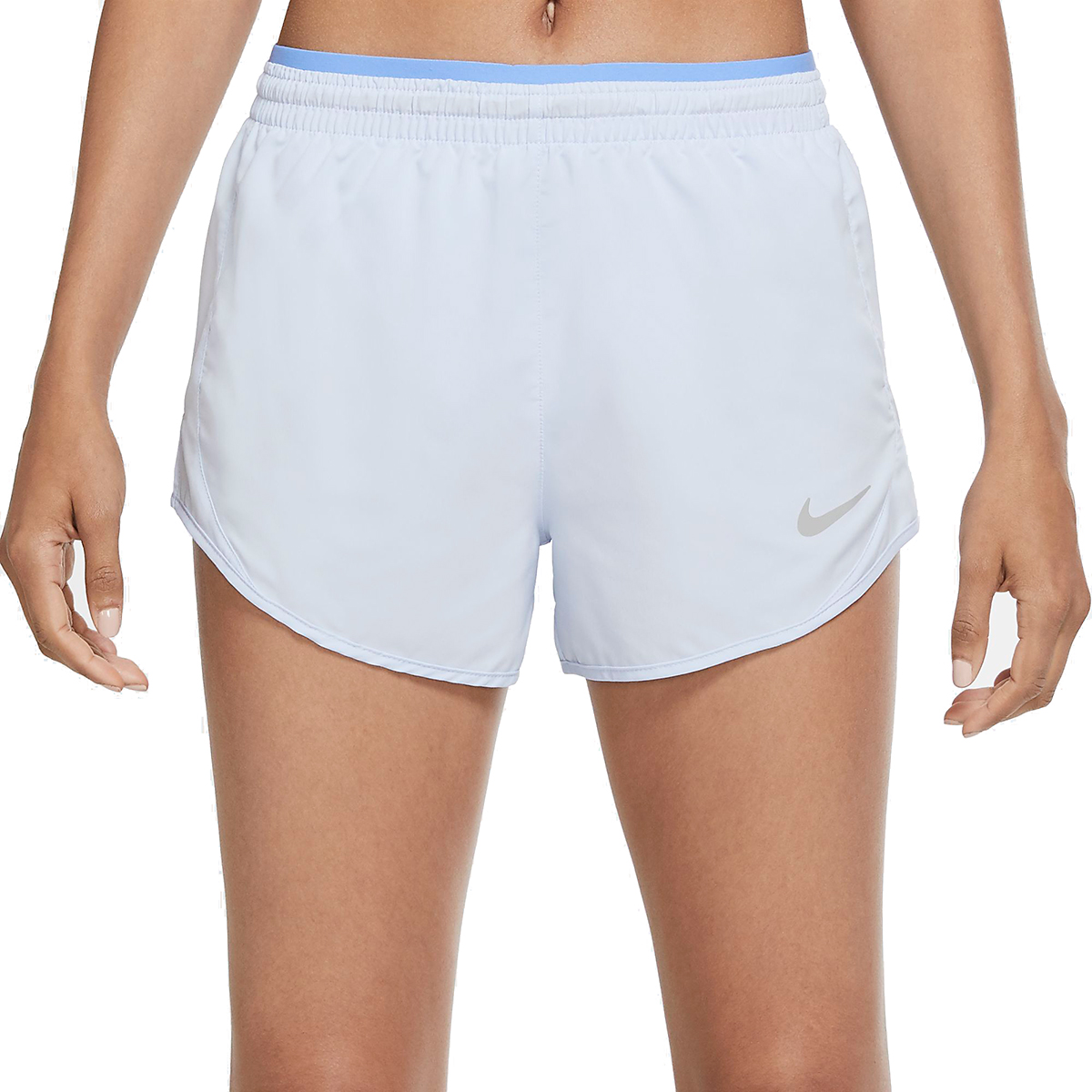 Women's Nike Tempo Luxe 3in Shorts - Color: Hydrogen Blue/Royal Pulse - Size: XS, Hydrogen Blue/Royal Pulse, large, image 1