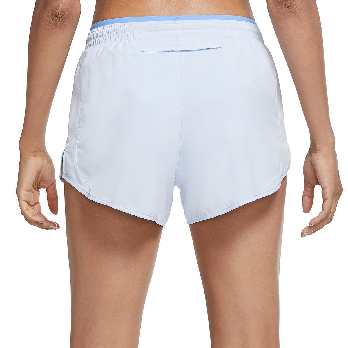 Women's Nike Tempo Luxe 3in Shorts - Color: Hydrogen Blue/Royal Pulse - Size: XS, Hydrogen Blue/Royal Pulse, large, image 2