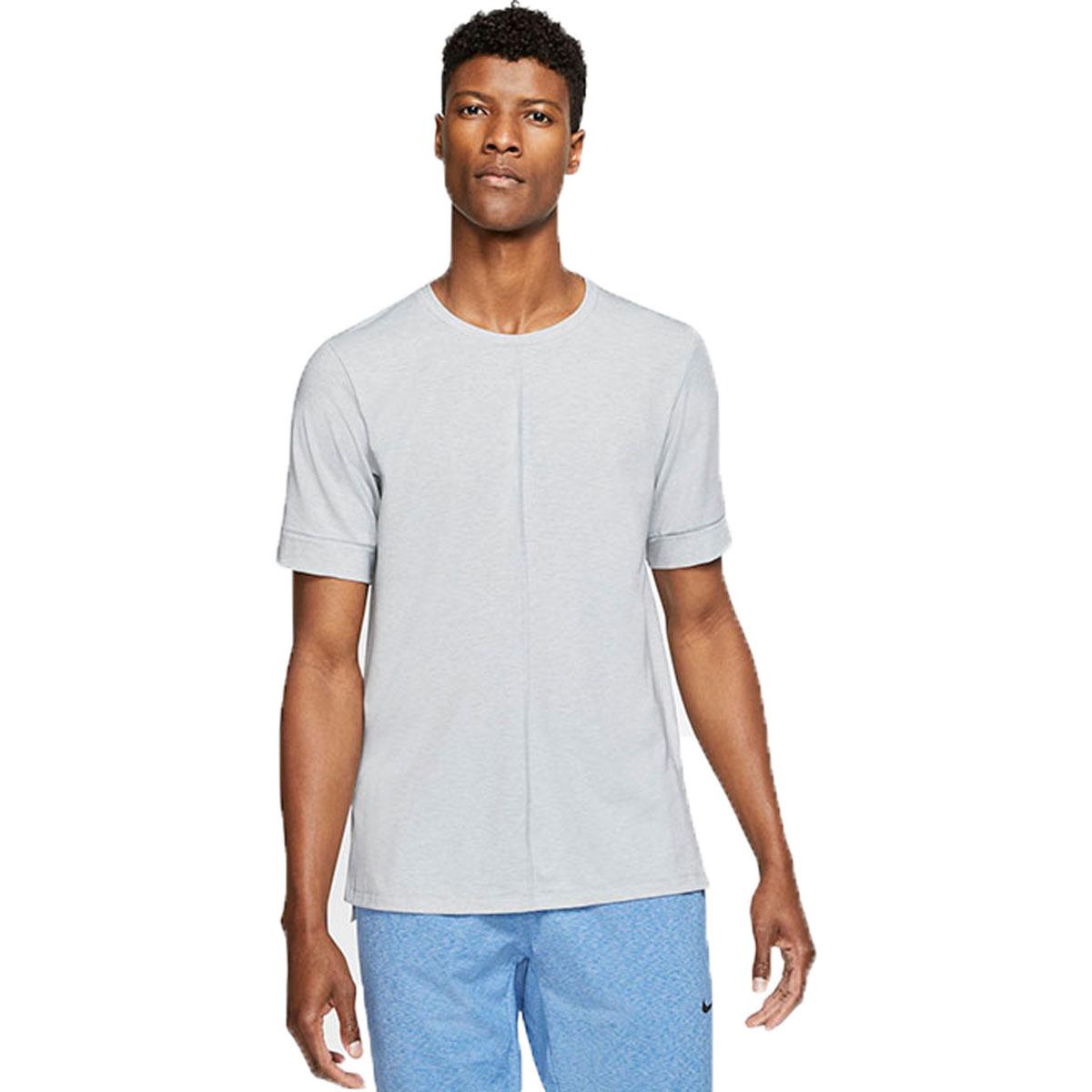Men's Nike Dri-FIT Yoga Short Sleeve Top, , large, image 1