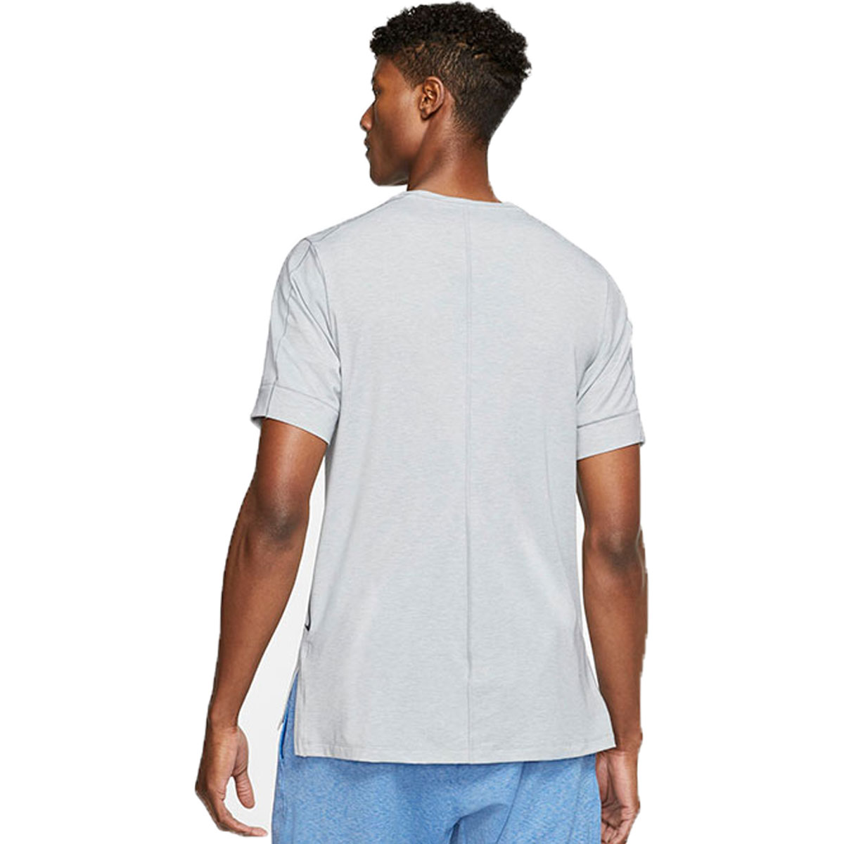 Men's Nike Dri-FIT Yoga Short Sleeve Top, , large, image 2