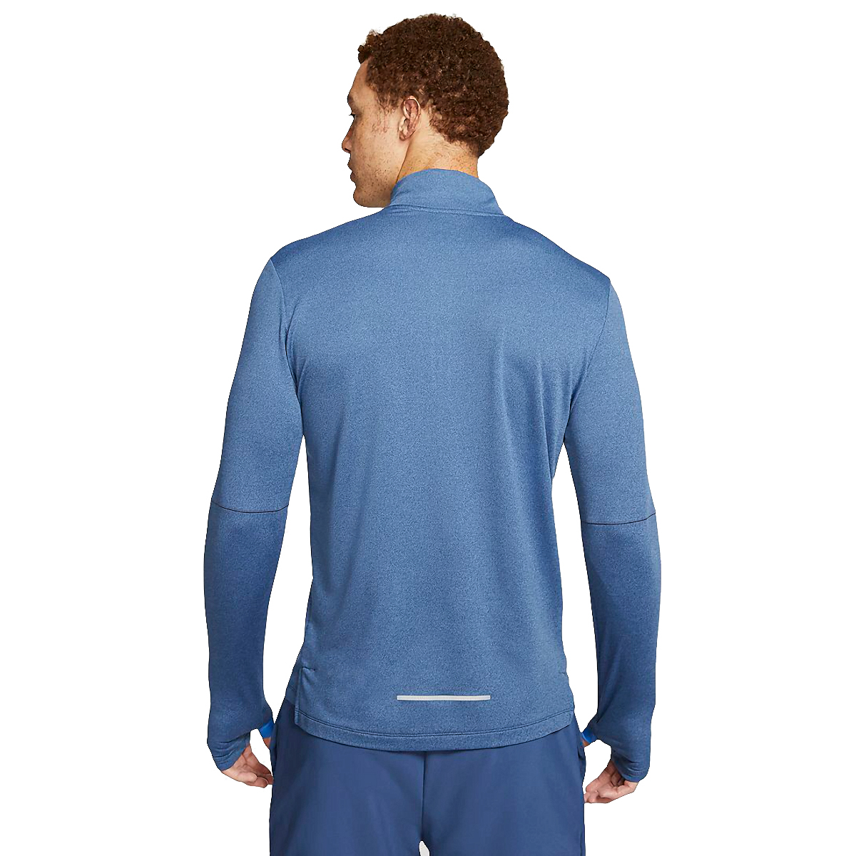 Men's Nike Element Half Zip 3.0 - Color: Obsidian/Heather - Size: XS, Obsidian/Heather, large, image 2