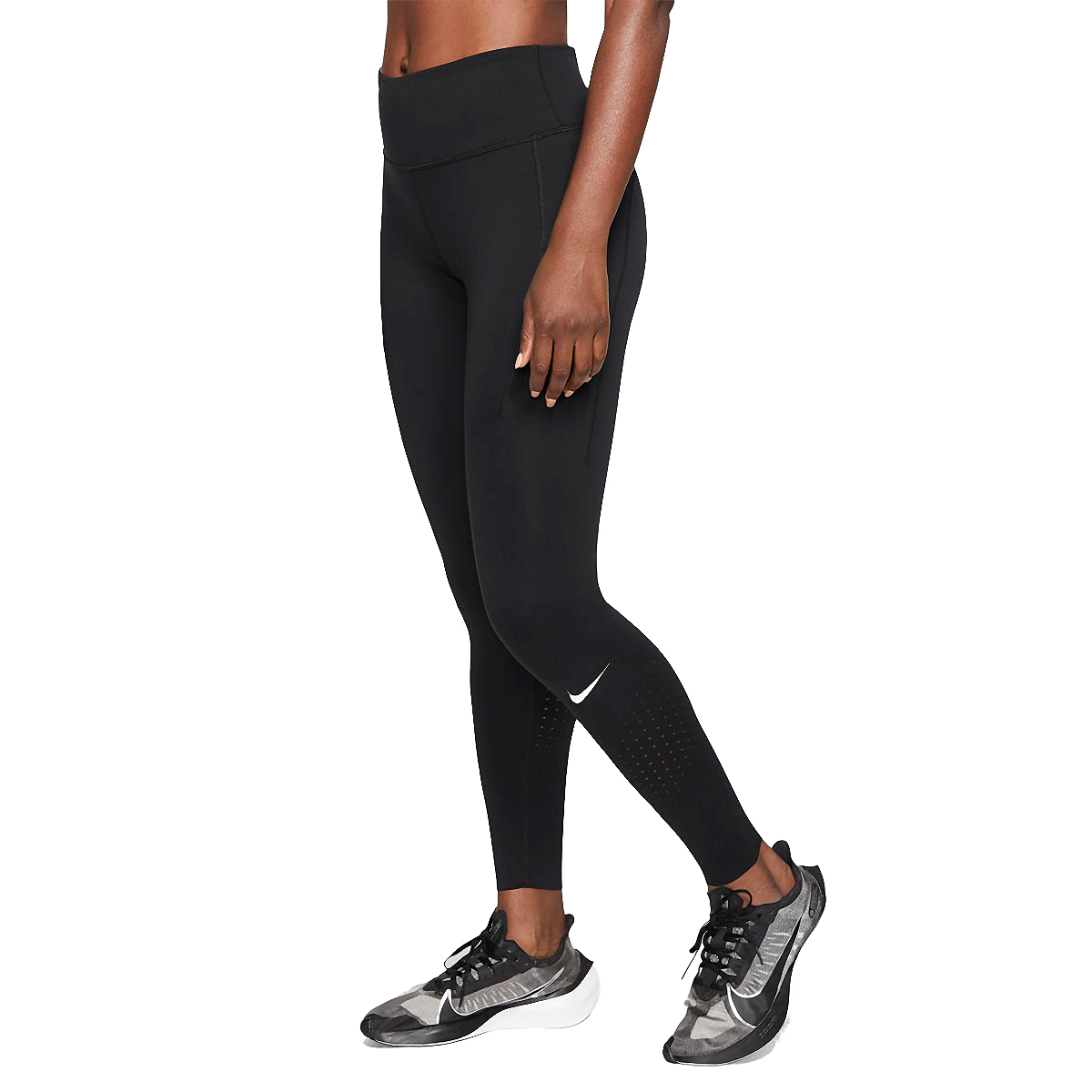 Women's Nike Epic Luxe Repel Tight  - Color: Black - Size: XS, Black, large, image 1