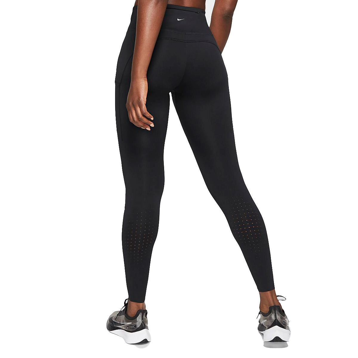 Women's Nike Epic Luxe Repel Tight  - Color: Black - Size: XS, Black, large, image 2
