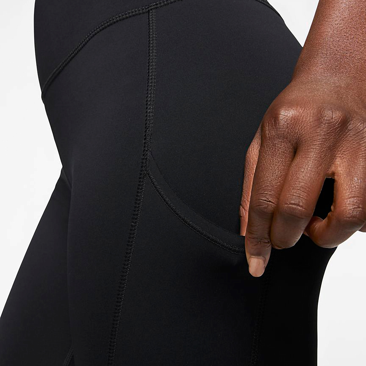 Women's Nike Epic Luxe Repel Tight  - Color: Black - Size: XS, Black, large, image 3