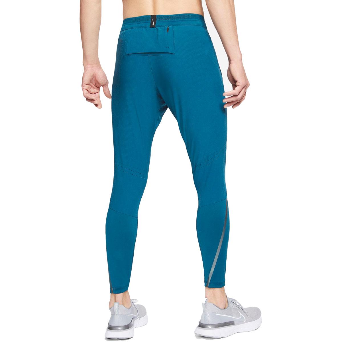 Men's Nike Swift Running Pants - Color: Valerian Blue/Reflect Black - Size: S, Valerian Blue/Reflect Black, large, image 2