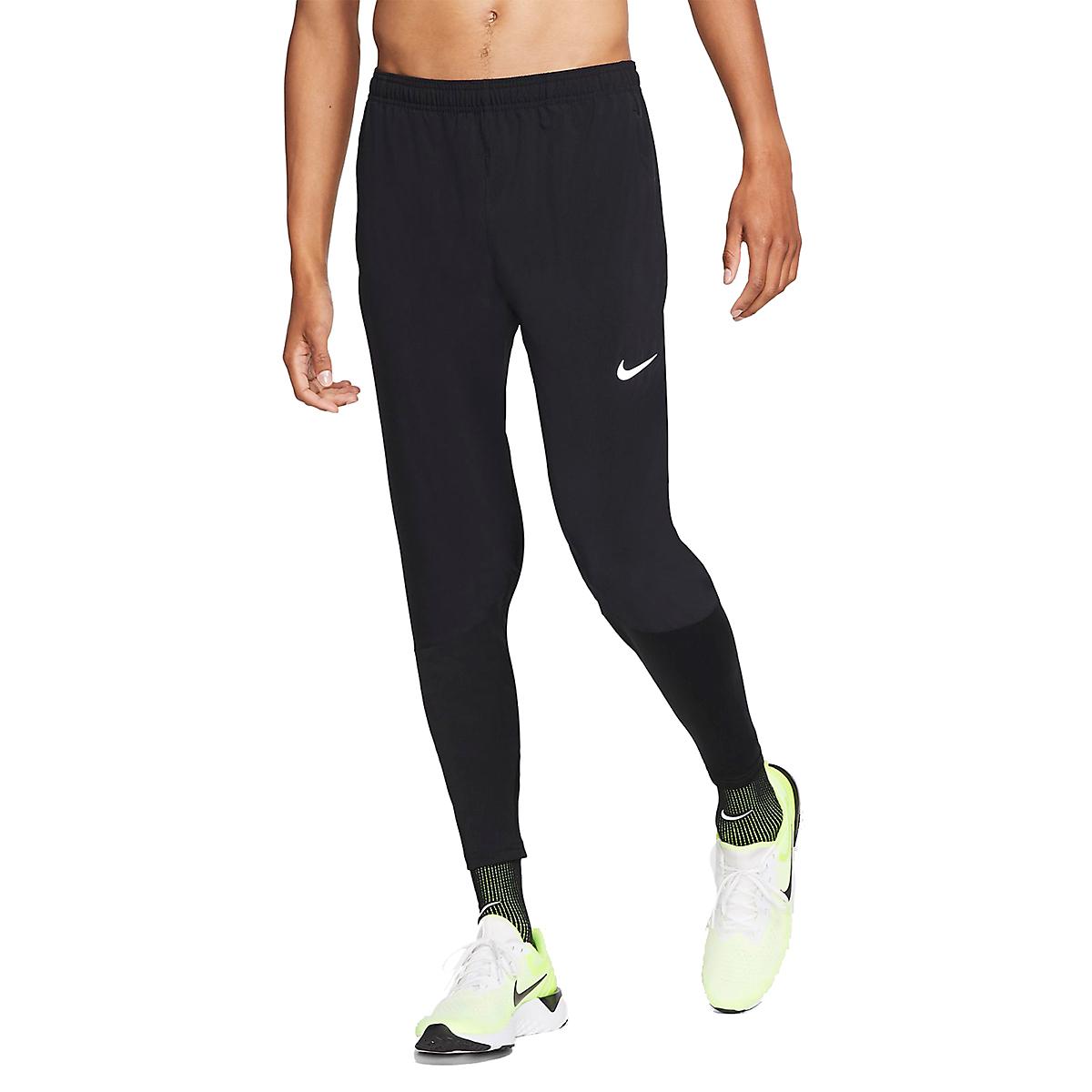 Men's Nike Phenom Essential Pant  - Color: Black/Reflective - Size: S, Black/Reflective, large, image 1