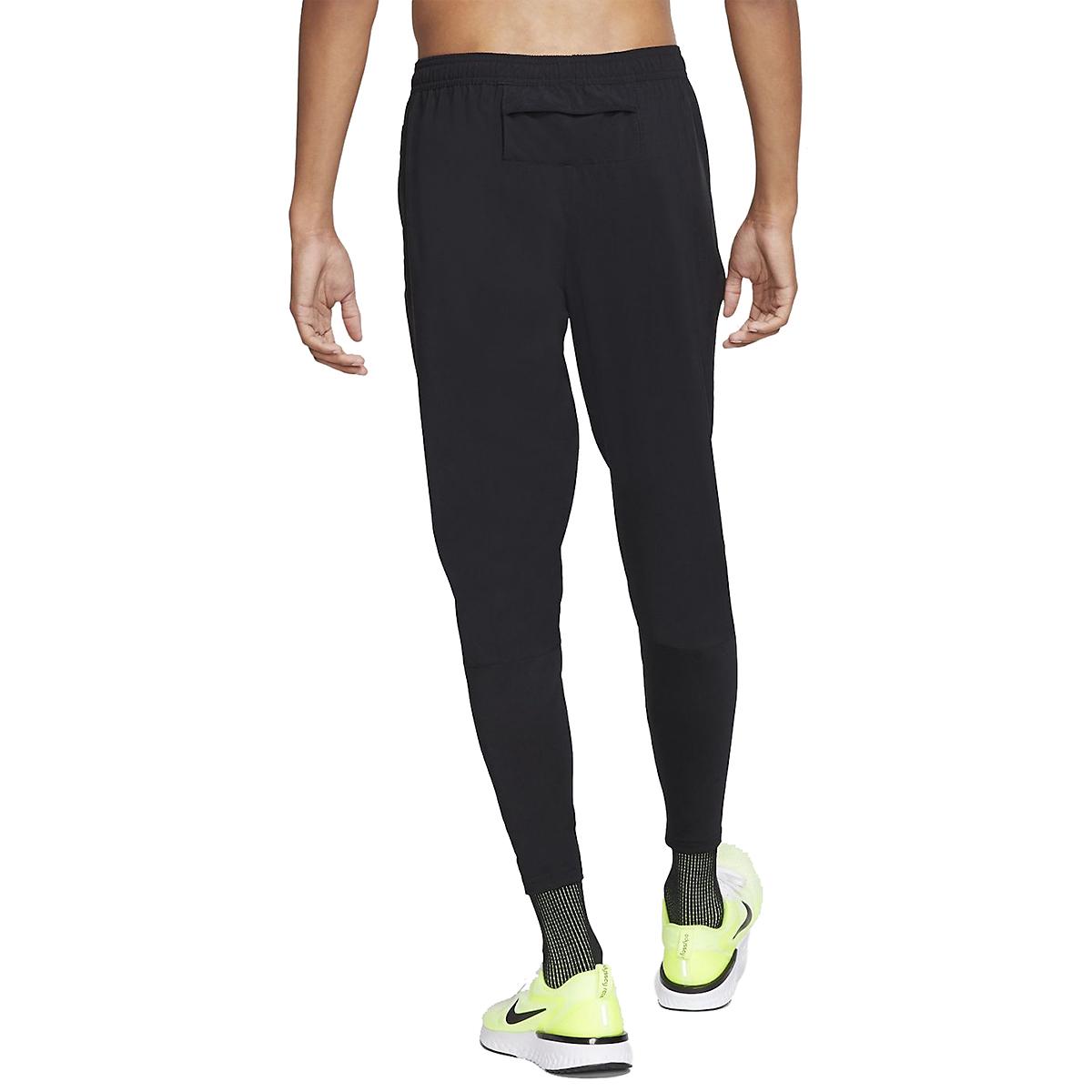 Men's Nike Phenom Essential Pant - Color: Black/Reflective - Size: S, Black/Reflective, large, image 2