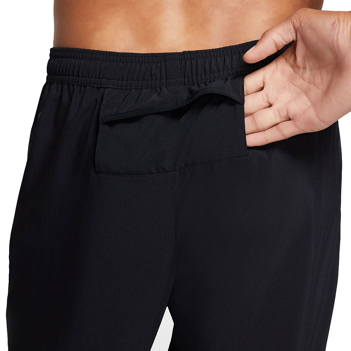 Men's Nike Phenom Essential Pant  - Color: Black/Reflective - Size: S, Black/Reflective, large, image 3