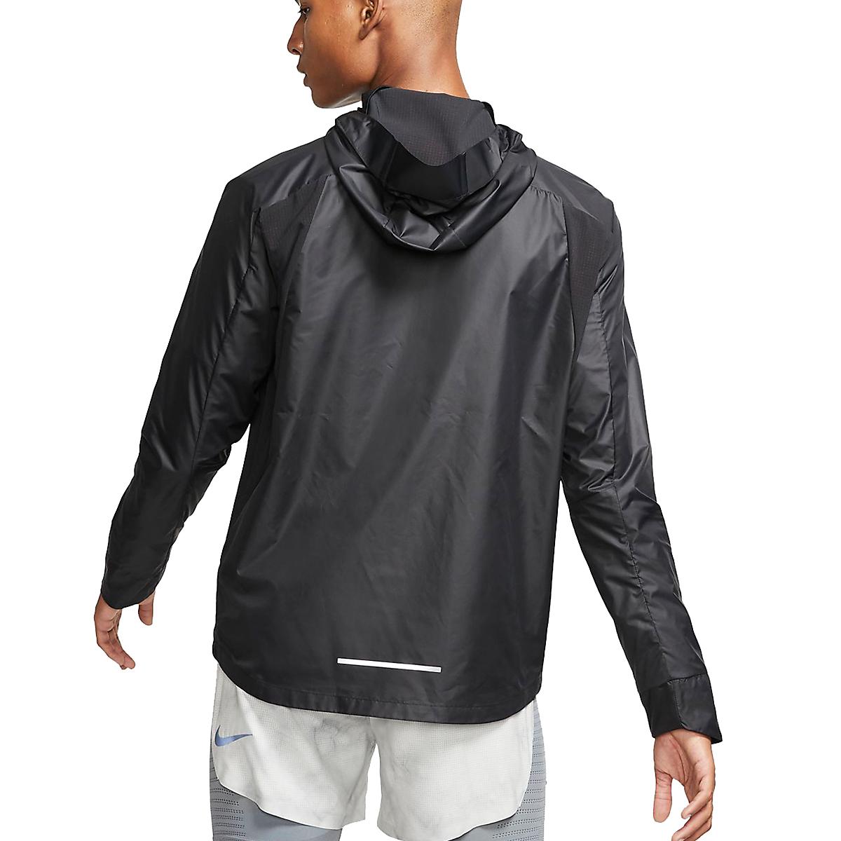 Men's Nike Essential Jacket  - Color: Black/Reflective - Size: S, Black/Reflective, large, image 2