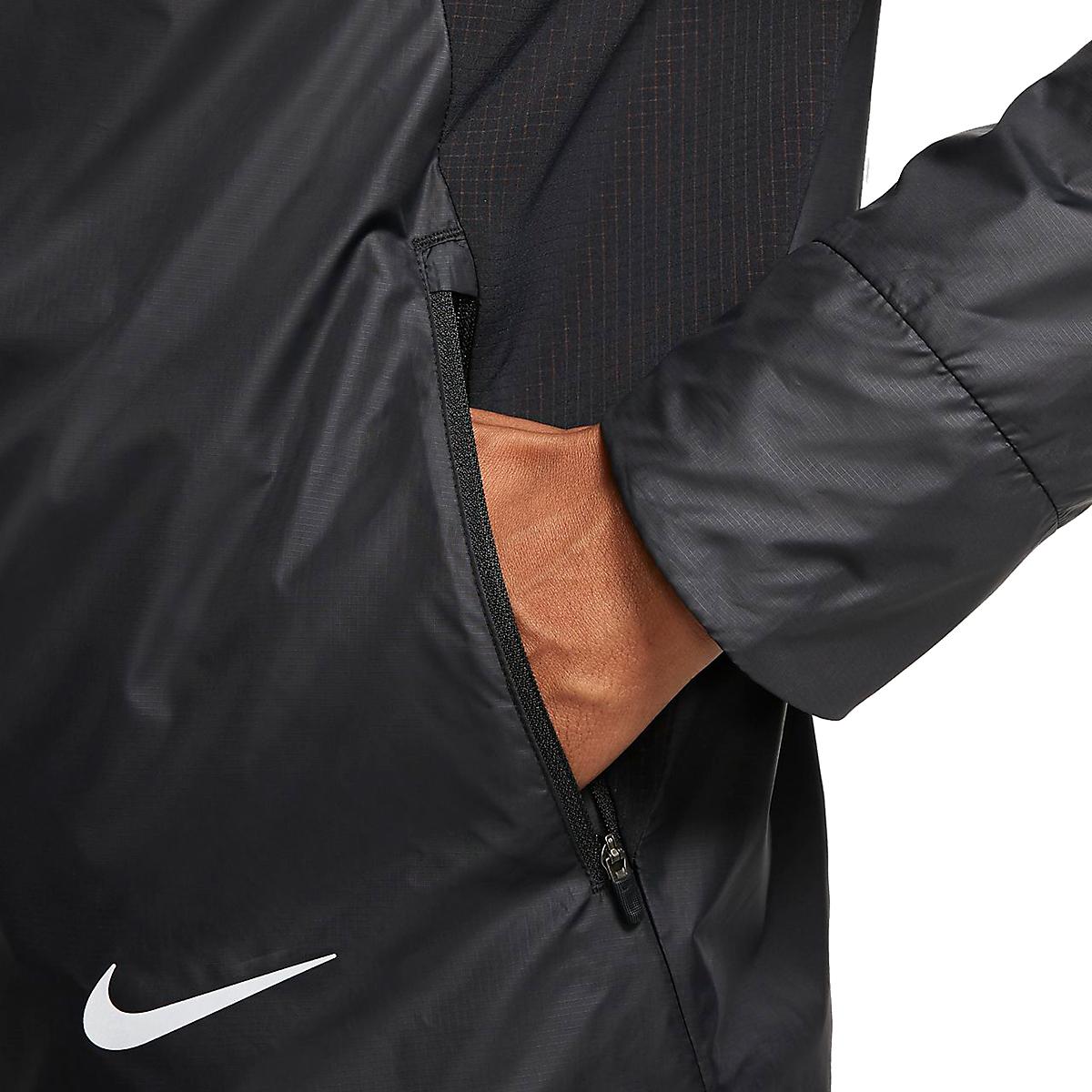 Men's Nike Essential Jacket  - Color: Black/Reflective - Size: S, Black/Reflective, large, image 3