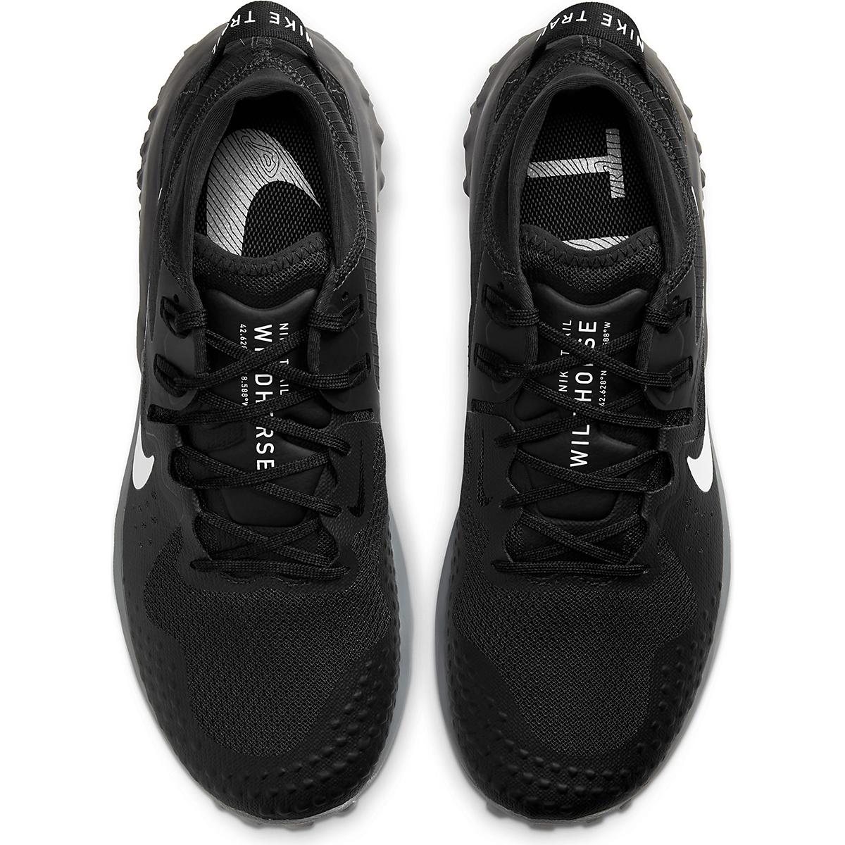 Men's Nike Wildhorse 6 Trail Running Shoe - Color: Off Noir/Spruce Aura-Black-Iron Grey - Size: 6 - Width: Regular, Off Noir/Spruce Aura-Black-Iron Grey, large, image 4