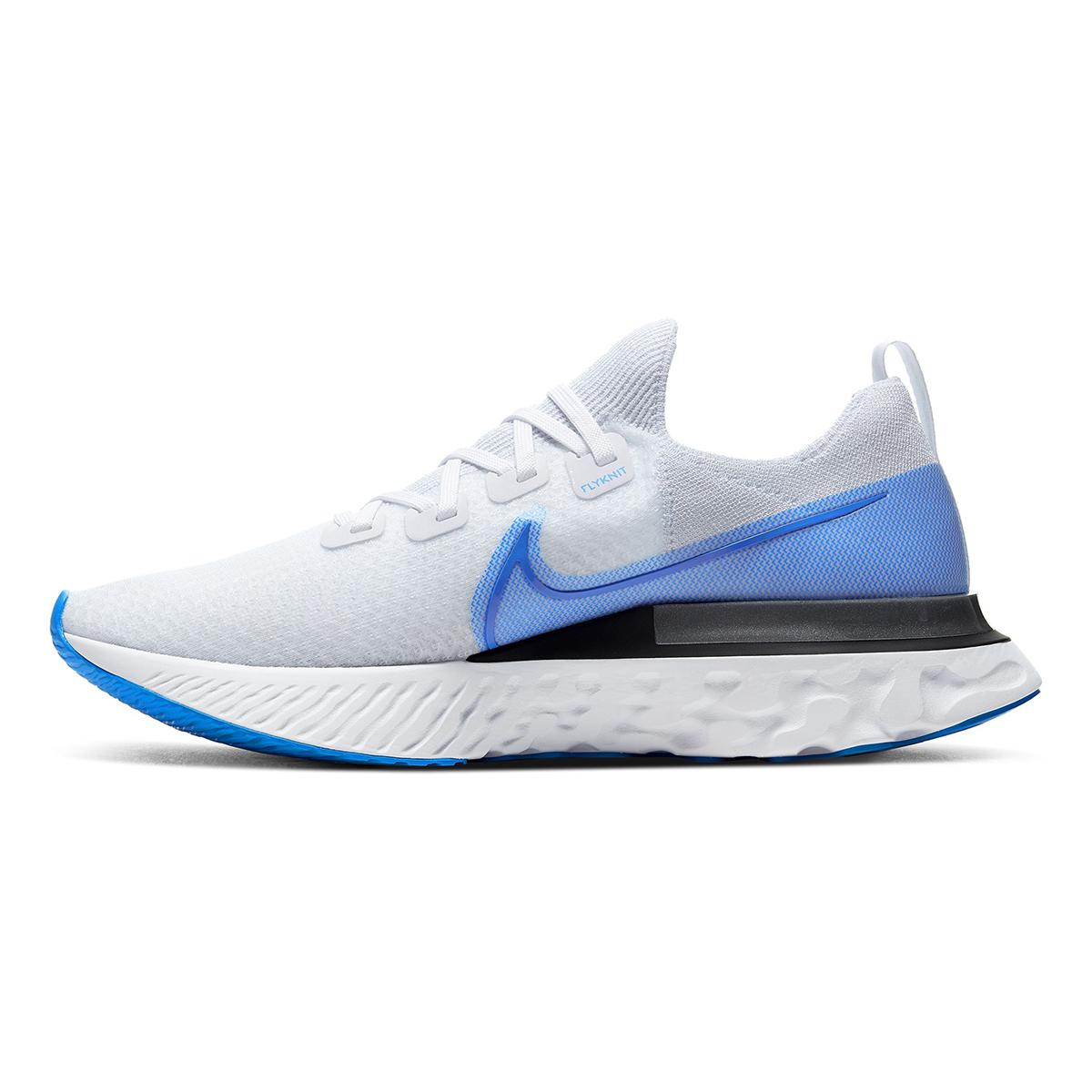 Men's Nike React Infinity Run Flyknit Running Shoe - Color: True White/White/Pure (Regular Width) - Size: 6, True White/White/Pure, large, image 2