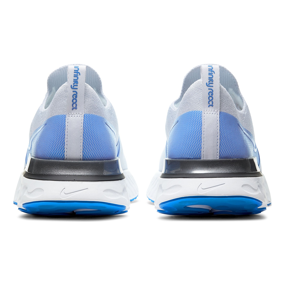 Men's Nike React Infinity Run Flyknit Running Shoe - Color: True White/White/Pure (Regular Width) - Size: 6, True White/White/Pure, large, image 3
