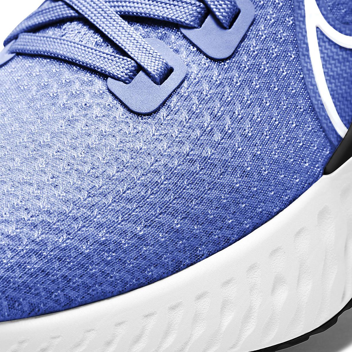 Men's Nike Nike React Infinity Run Flyknit Running Shoe - Color: Racer Blue/White-Bright Crimson-Black - Size: 6.5 - Width: Regular, Racer Blue/White-Bright Crimson-Black, large, image 4