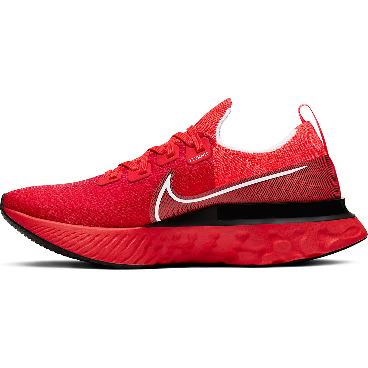 Men's Nike React Infinity Run Flyknit Running Shoe - Color: Bright Crimson - Size: 6 - Width: Regular, Bright Crimson, large, image 2