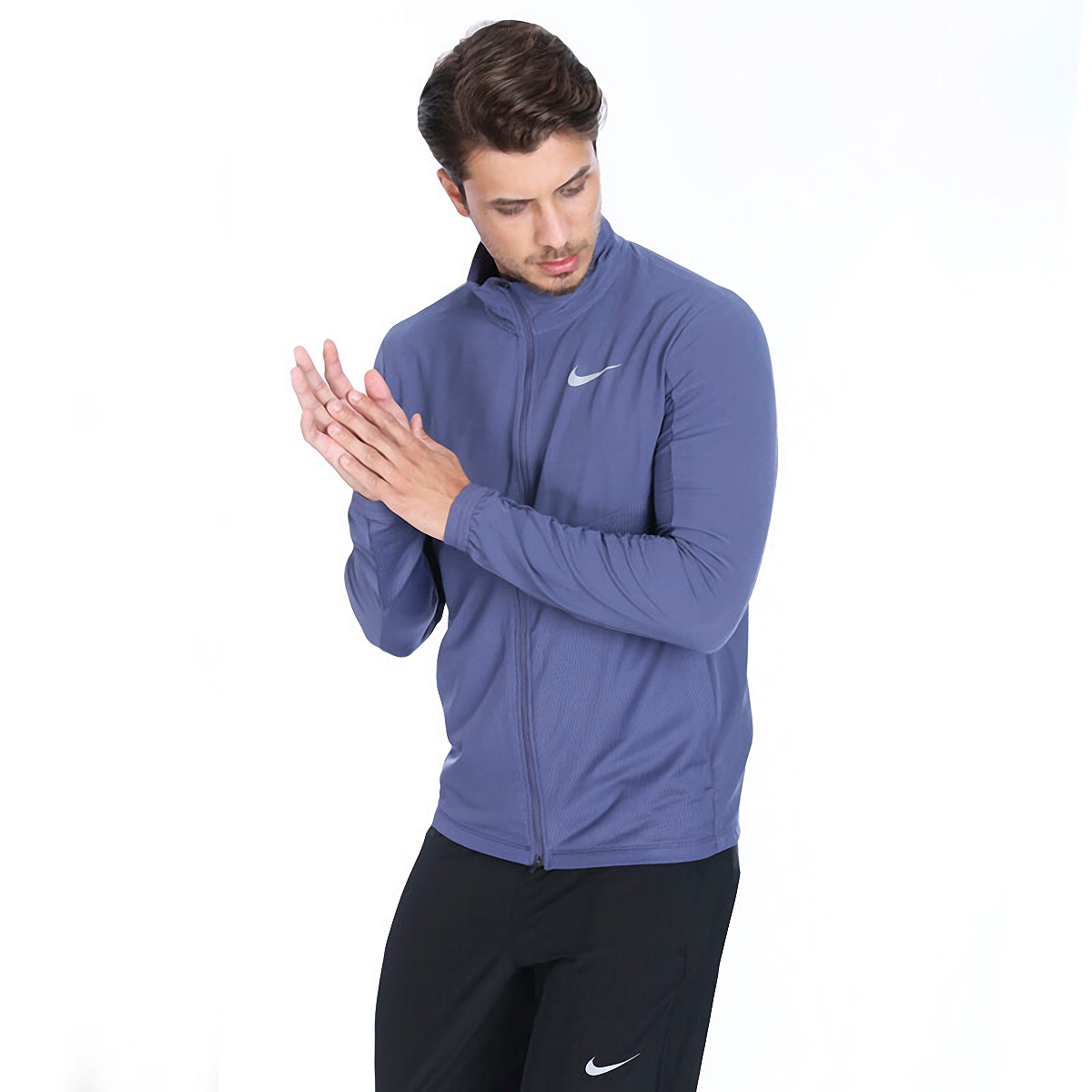 Men's Nike Element Full Zip, , large, image 1