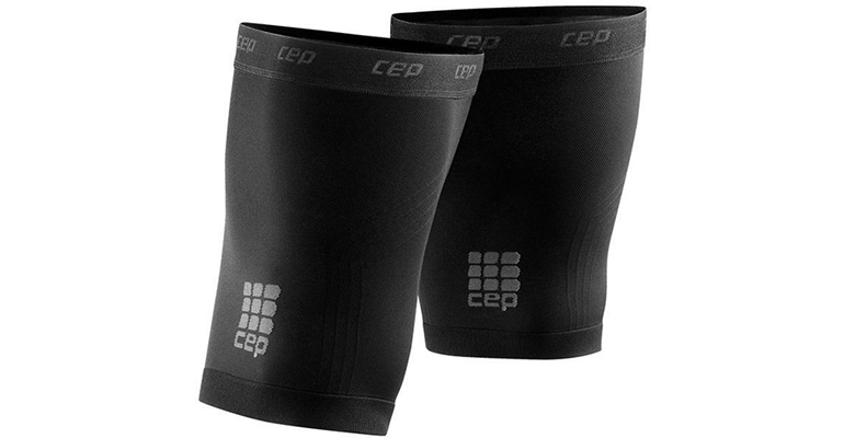 CEP Compression Dynamic+ Quad Sleeves - Color: Black - Size: V, Black, large, image 1