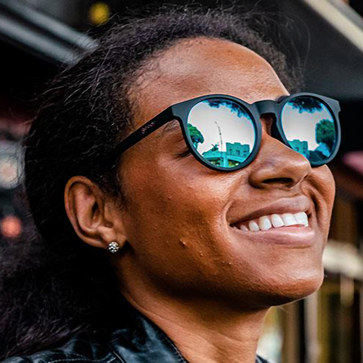 Goodr Midnight Ramble At Circle Bar Sunglasses - Color: Black - Size: OS, Black, large, image 3