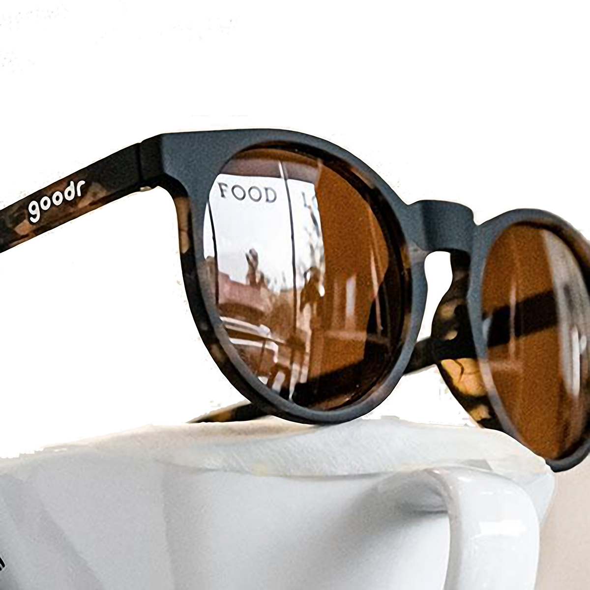 Goodr Nine Dollar Pour Over Sunglasses - Color: Tortoise - Size: OS, Tortoise, large, image 3