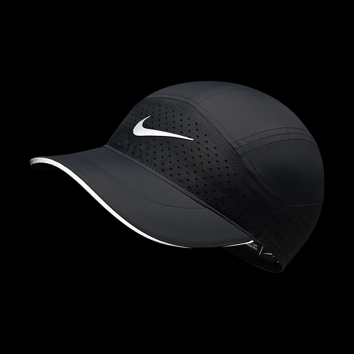 Women's Nike Aerobill Tailwind Elite Cap - Color: Grey, Grey, large, image 3