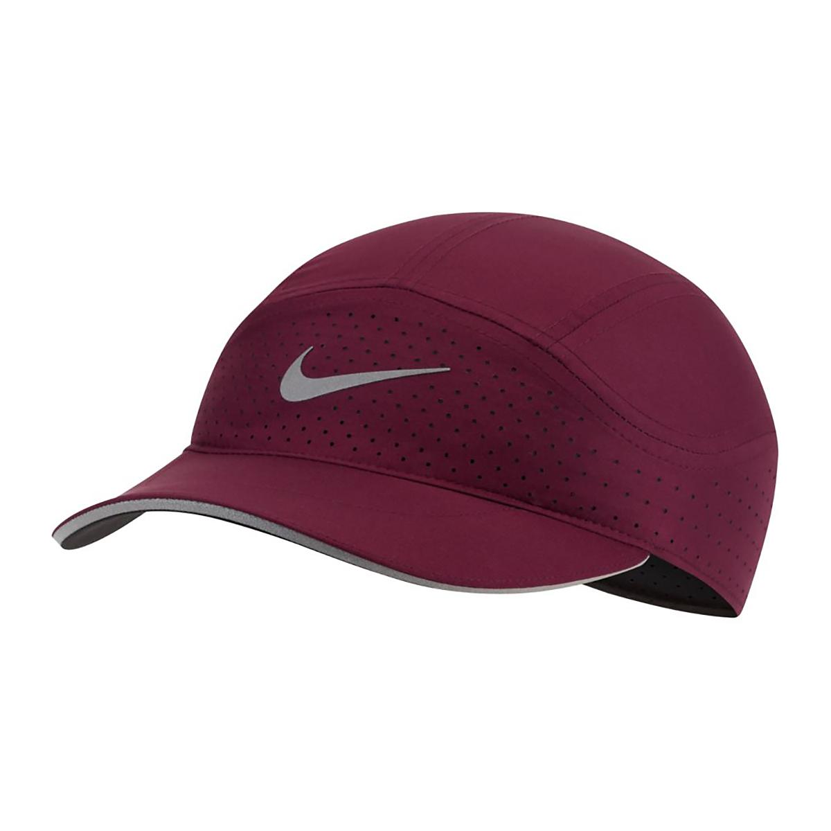 Women's Nike Aerobill Tailwind Elite Cap - Color: Maroon, Maroon, large, image 1