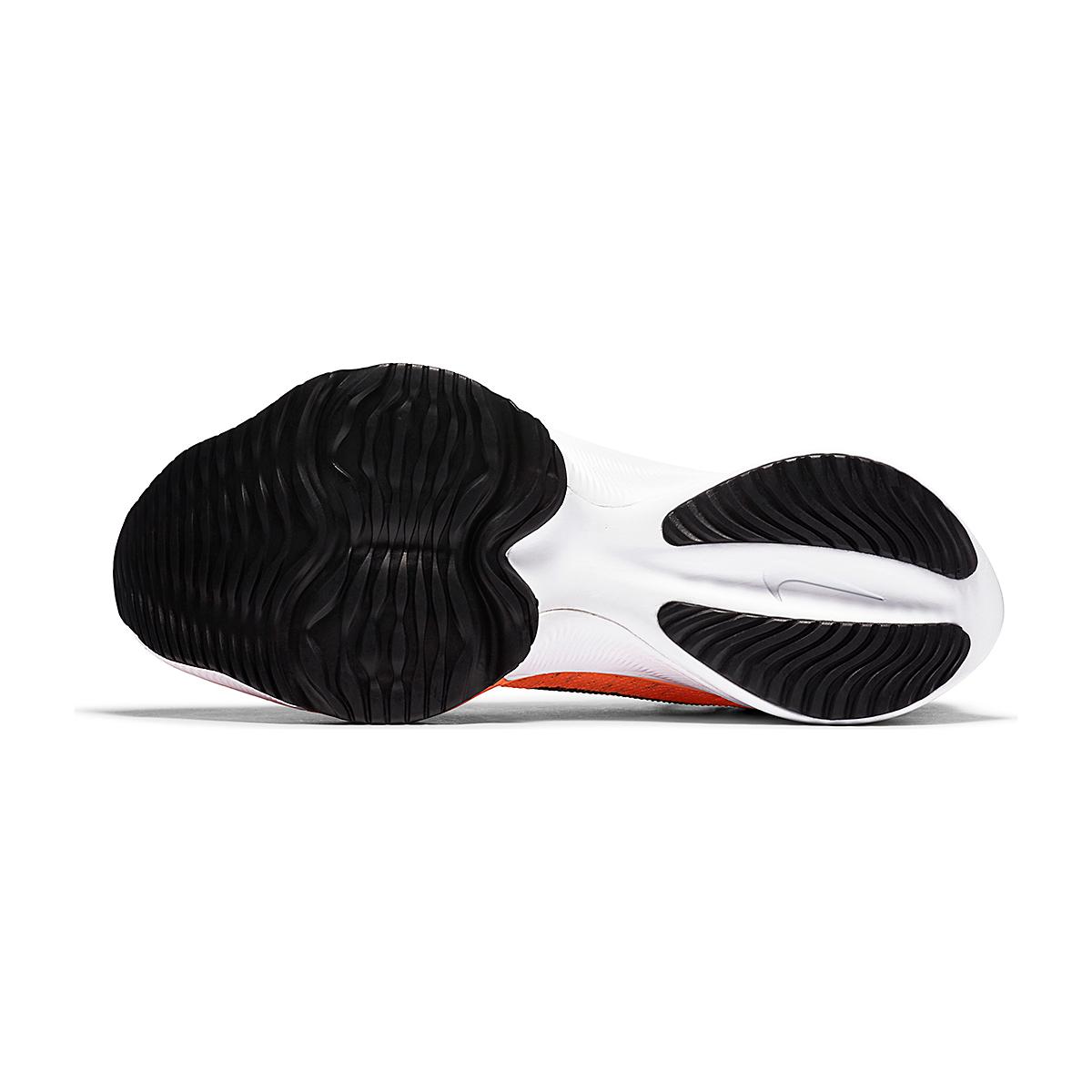Men's Nike Air Zoom Tempo NEXT% Running Shoe - Color: Bright Mango/Black-Citron Pulse - Size: 6 - Width: Regular, Bright Mango/Black-Citron Pulse, large, image 3