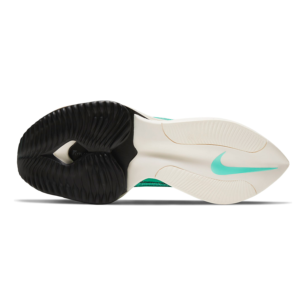 Men's Nike Air Zoom Alphafly Next% Running Shoe - Color: Hyper Turq/White-Black-Oracle Aqua - Size: 6 - Width: Regular, Hyper Turq/White-Black-Oracle Aqua, large, image 4