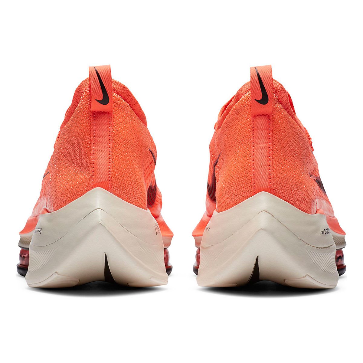 Men's Nike Air Zoom Alphafly NEXT% Running Shoe - Color: Bright Mango/Citron Pulse - Size: 6 - Width: Regular, Bright Mango/Citron Pulse, large, image 4