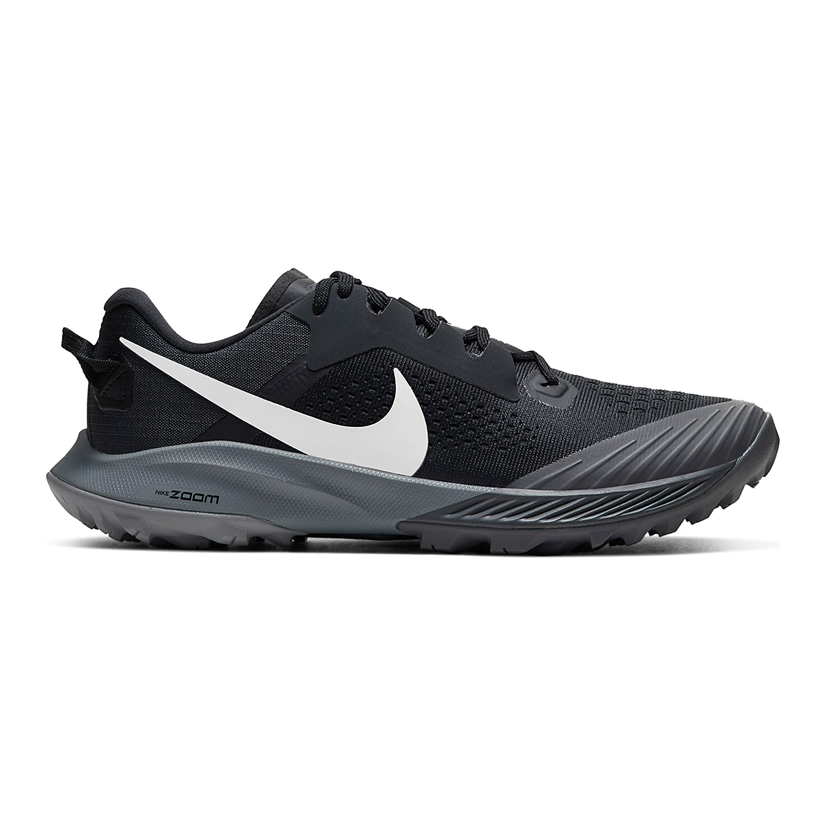 Women's Nike Air Zoom Terra Kiger 6 Trail Running Shoe - Color: Off Noir/Black/Iron Grey/Spruce Aura - Size: 5 - Width: Regular, Off Noir/Black/Iron Grey/Spruce Aura, large, image 1