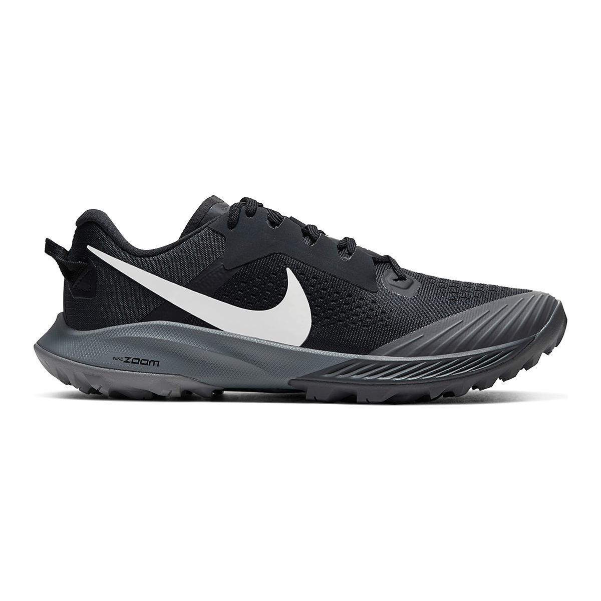 Women's Nike Air Zoom Terra Kiger 6 Trail Running Shoe - Color: Off Noir/Black/Iron Grey/Spruce Aura - Size: 5 - Width: Regular, Off Noir/Black/Iron Grey/Spruce Aura, large, image 1